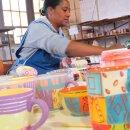 Keramik-Becher Madame, 350 ml