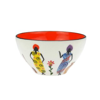 Keramik-Schale Madame, Ø 12 cm