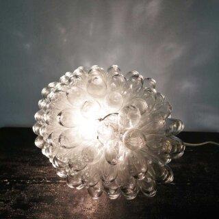 Lampe Tropfen transparent, klein