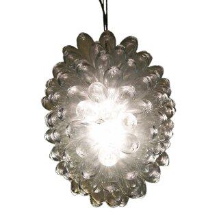 Lampe Tropfen transparent, groß