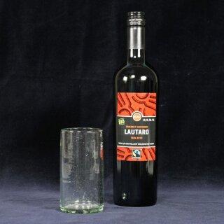 Trinkglas 250ml natur mundgeblasen