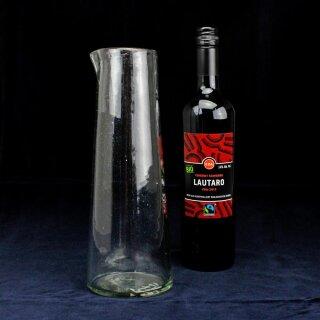 Karaffe 1 Liter mundgeblasen