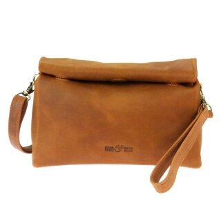Leder-Tasche/Lunch Bag Vintage S