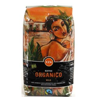 Organico mild Bohne 1kg, kbA