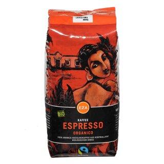 Organico Espresso Bohne 1kg, kbA