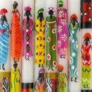 Stabkerze AFRICAN LADIES, 23cm