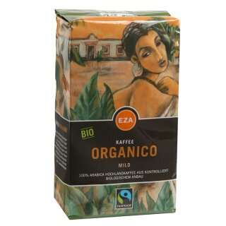 Organico mild gemahlen 500g, kbA