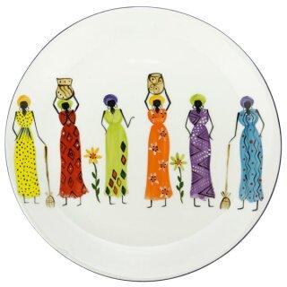 Keramik-Speiseteller Madame, Ø 28 cm