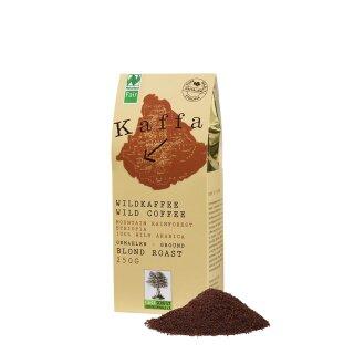 Kaffa Bio-Wildkaffee, Blond Roast, gemahlen, 250g
