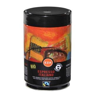 Espresso Italiano gemahlen 250g, kbA, in Dose