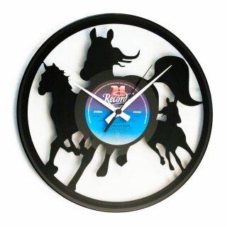 Wanduhr - Wild Horses