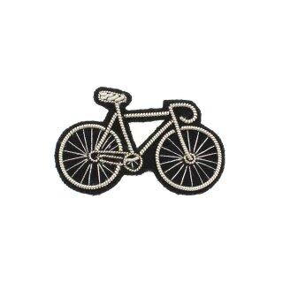 Anstecker Silbernes Fahrrad