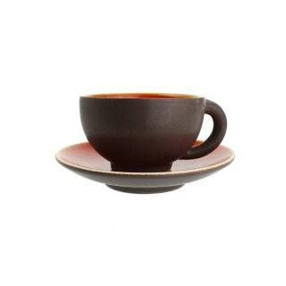 Keramik-Teetasse mit Untertasse, 180 ml