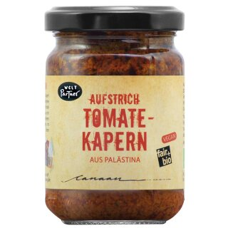 Tomate-Kapern Aufstrich