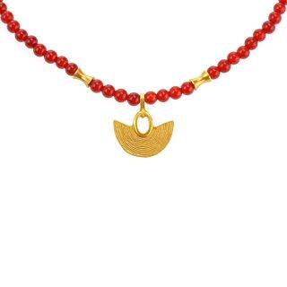 Halskette Hortense, Achat, vergoldet