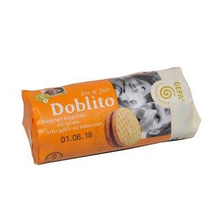 BIO-DOBLITO 85g kbA, Doppelkeks mit Kakaocremefülle