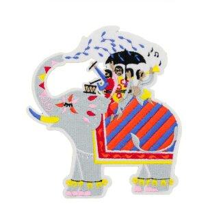 Patch Elefant IndianTaxi