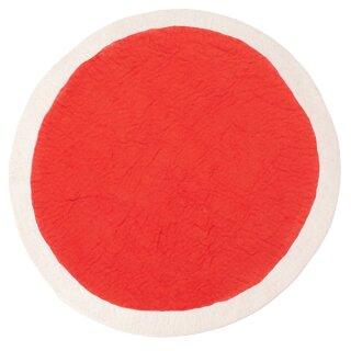 beige / orange