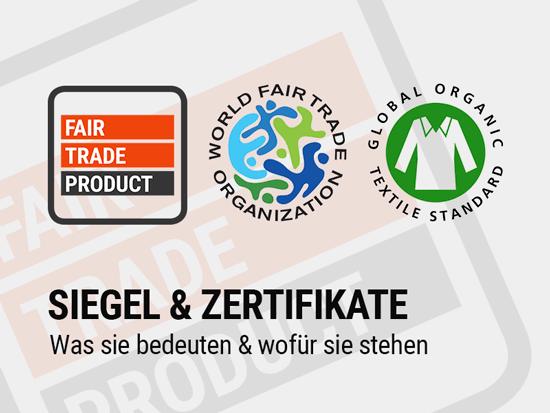 Unsere Siegel und Zertifikate