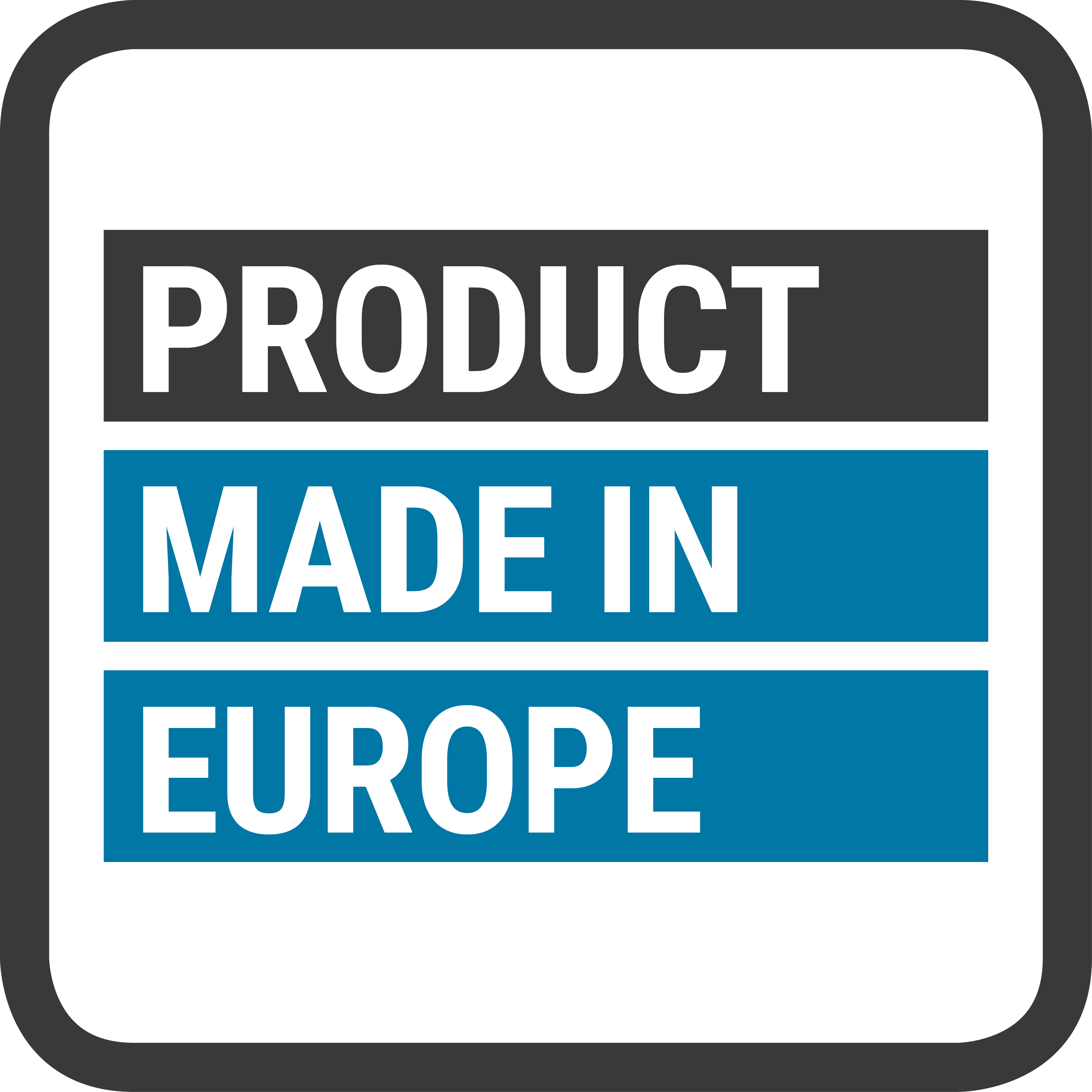 Product Made in Europe