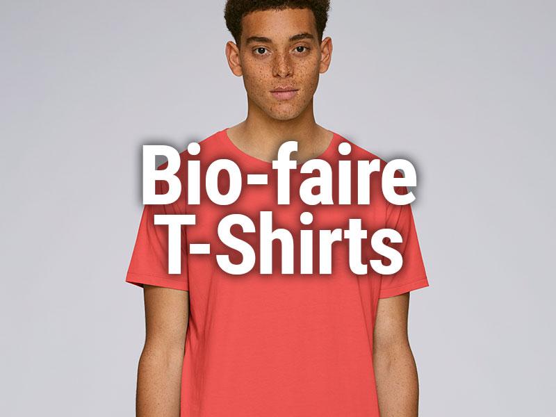 Faire Shirts aus Bio-Baumwolle